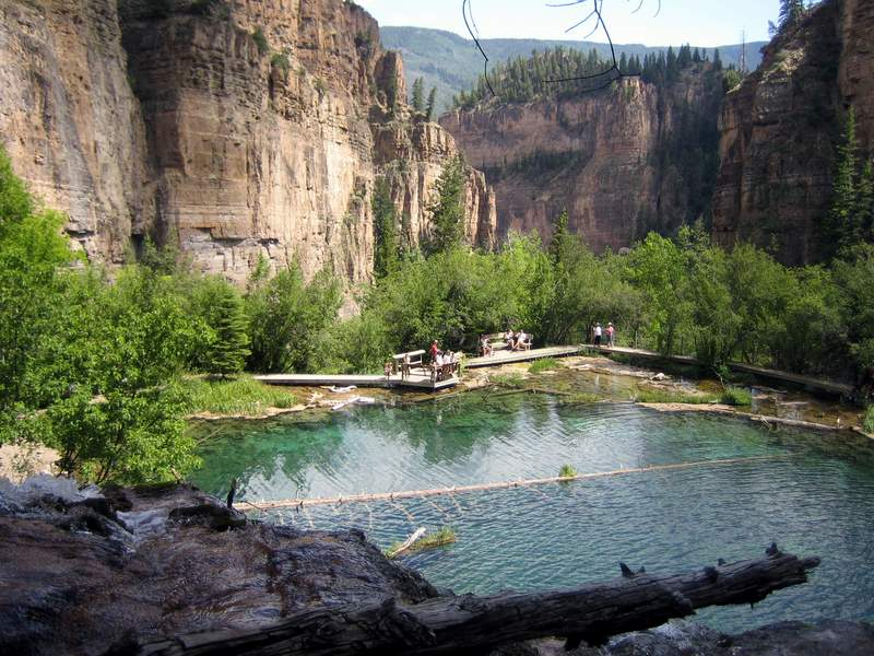 Hanging Lake In Glenwood Canyon Colorado Colorado Area
