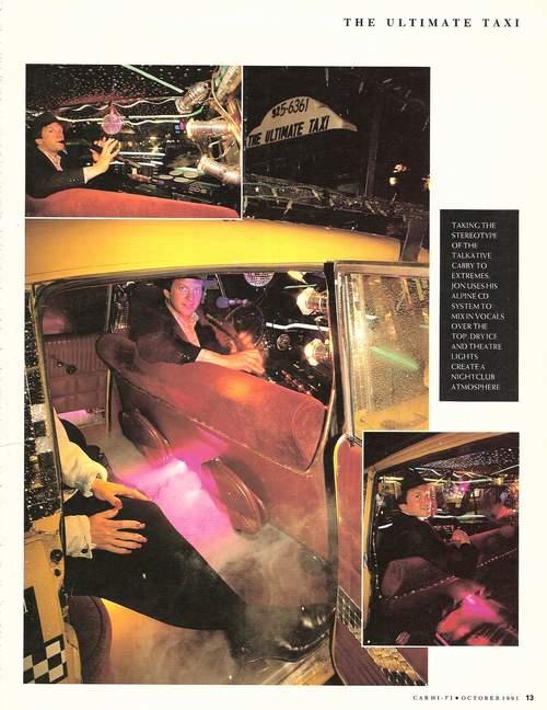 Ultimate Taxi 3D - Taxi Featured In Car Hi Fi Magazine (U K
