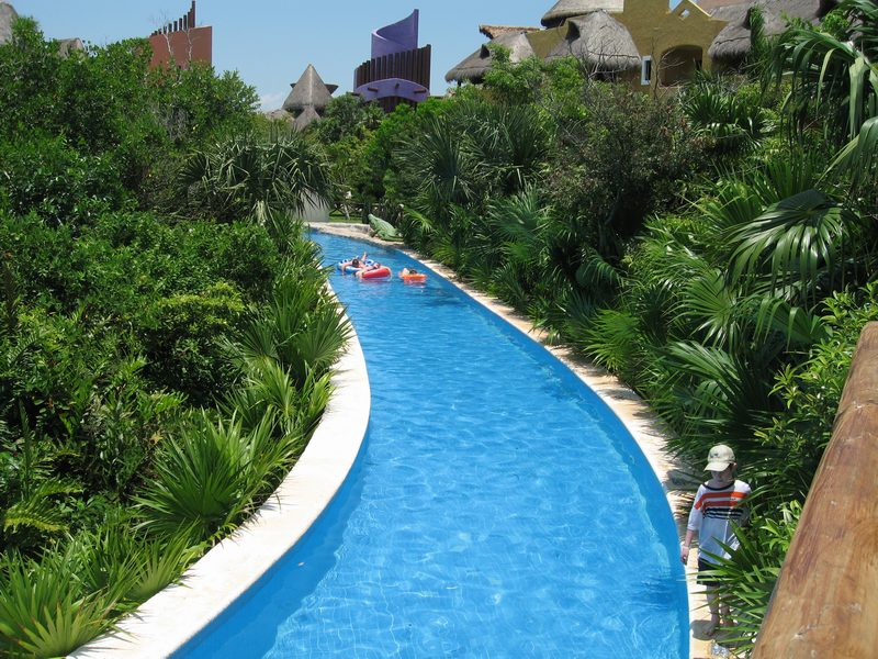 Ultimate Taxi 3d Lazy River Pool At Mexico All Inclusive Ultimate Mexico Vacation Photos