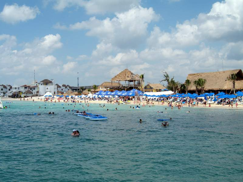 Cozumel Paradise Beach Royal Caribbean Voyager Of The
