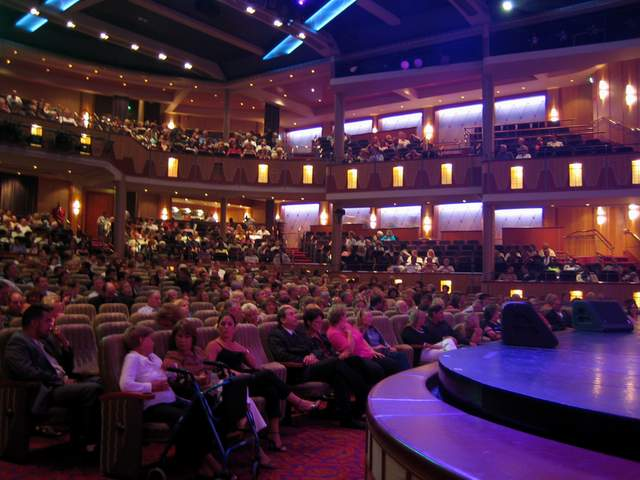 The Palace Theater On Royal Caribbean Explorer Of The Seas