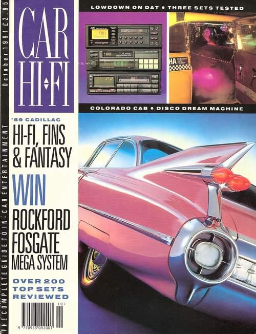 Taxi Featured In Car Hi Fi Magazine (U K ) October 1991