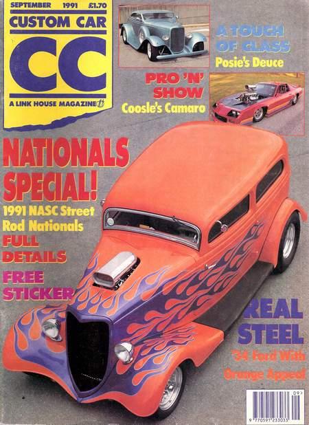 Ultimate Taxi Featured In Custom Car Magazine U K 1991 Jon Barnes