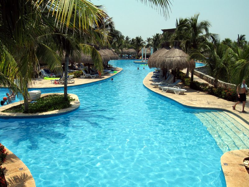 swimming pool at mexico all inclusive iberostar riviera maya in mexico ultimate mexico