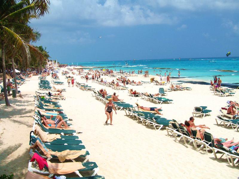 Playa Del Carmen Beach Playacar Mexico