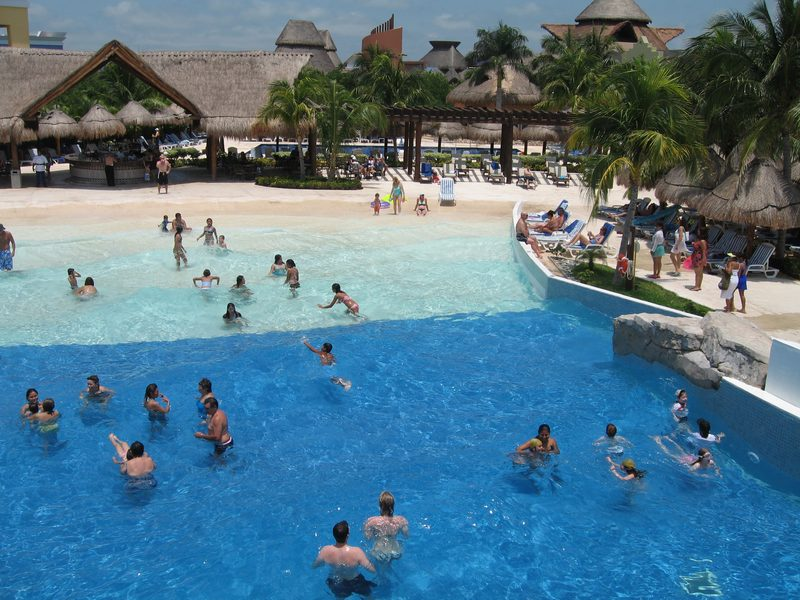 Wave Pool At Mexico All Inclusive | Iberostar Riviera Maya In ...