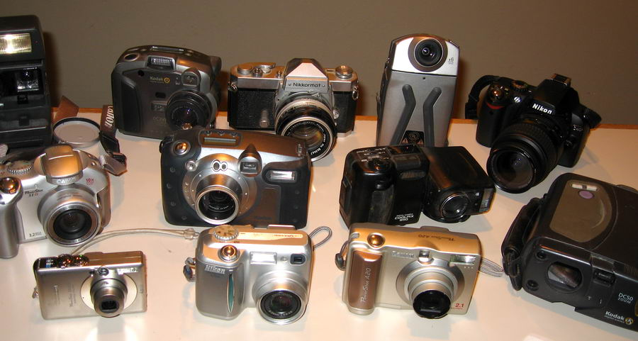 Cameras And Digital Cameras Used In The Ultimate Taxi 1983 to 2009 ...