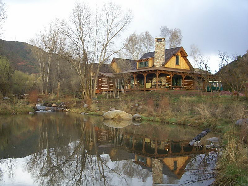 The Roaring Fork Club   Cabin On The Roaring Fork River   Basalt Colorado