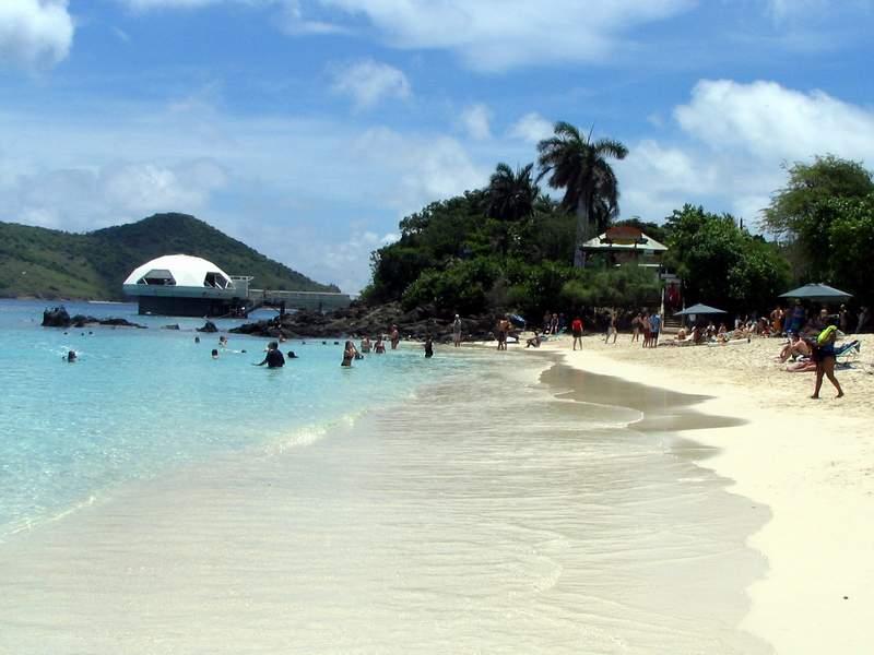 St Thomas Coki Beach Caribbean Vacation Photos Coki Beach